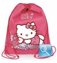 zaino sacchetto asilo hello kitty fucsia nuova collezione 2013
