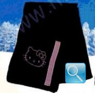 sciarpa hello kitty nera