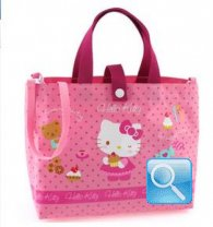 borsa hello kitty shopper c-tracolla M pink