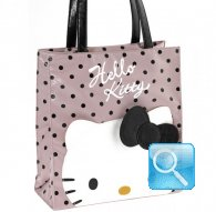 borsa shopper L city hello kitty pink