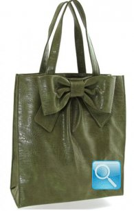 Shopper Ribbon L Green