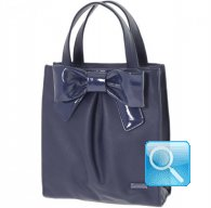 Borsa Camomilla Shopper M blue