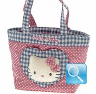 borsa hello kitty shopper M i love you pink