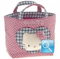 borsa hello kitty shopper S i love you pink