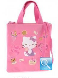 borsa hello kitty shopper XS tracolla pink