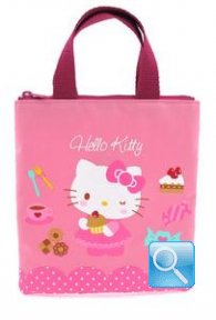 borsa hello kitty shopper XS pink