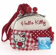 borsa hello kitty shoulder purse i love you red