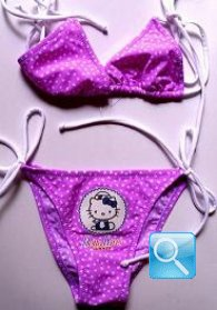costume hello kitty bambina 3-4 anni