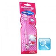 spazzolino hello kitty rosa con portachiavi