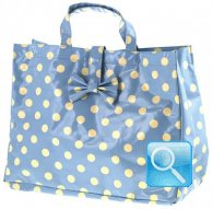 borsa sporta L bubbles celeste 