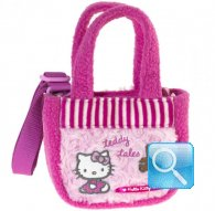borsa hello kitty sportina c-tracollina too sweet pink