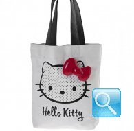 sporta  hello kitty art dotty white