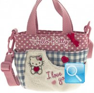 borsa hello kitty sportina i love you pink