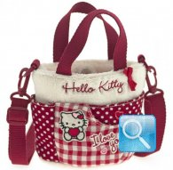 borsa hello kitty sportina i love you red