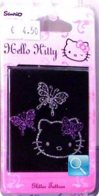 tatuaggi hello kitty t2 rosa