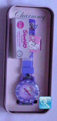 Orologio Charmmy Kitty Time Teacher - Bows & Mirrors