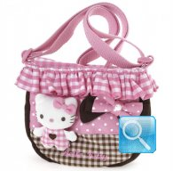 Tracolla hello kitty c-balza pink&brown