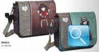 borsa tracolla gorjuss stripes cuore nuova collezione 2013
