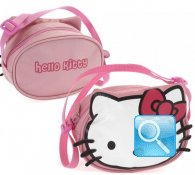 Tracolla Hello Kitty Pink