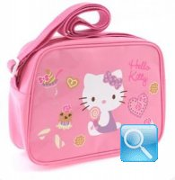 borsa hello kitty tracolla pink