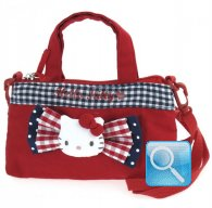 Borsa Tracolla Hello Kitty Red & Blue