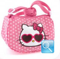 borsa hello kitty tracollina dotty d.pink