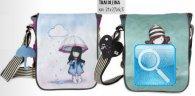 borsa tracollina gorjuss stripes cuore nuova collezione 2013