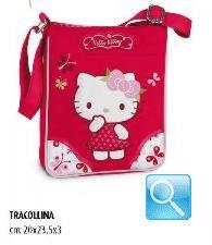 tracollina hello kitty scuola magenta nuova collezione 2013