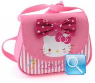 borsa hello kitty tracollina pink
