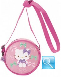 Borsa Tracollina Hello Kitty Purple