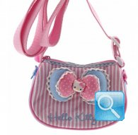 Borsa Hello Kitty Tracollina Ribbon Pink