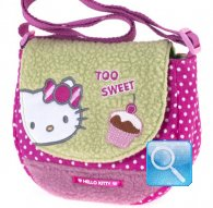 borsa hello kitty tracollina too sweet green