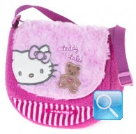 borsa hello kitty tracollina too sweet pink