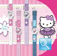 orologio hello kitty jeans