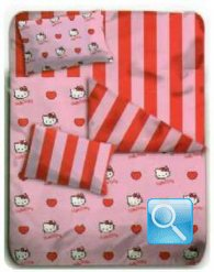 trapunta hello kitty cuore