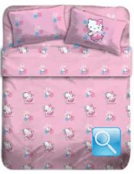 copriletto hello kitty butterfly matrimoniale