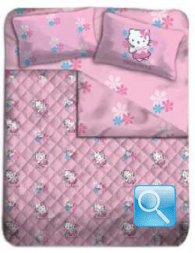 trapunta hello kitty piumone butterfly singolo