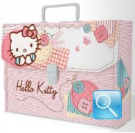 valigetta hello kitty cartellina asilo rosa nuova collezione 2013