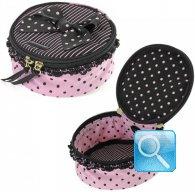vanity box camomilla M black&pink