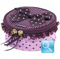 vanity box camomilla M purple&pink