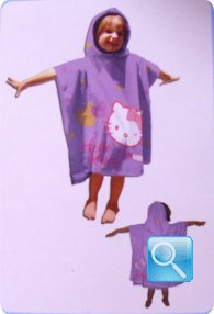 poncho hello kitty viola