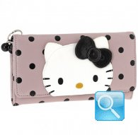 wallet L city hello kitty pink