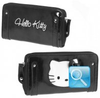 wallet l kitty pop-up black