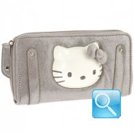 wallet l kitty pop-up gold