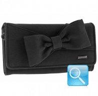 portafoglio camomilla wallet L ribbon black