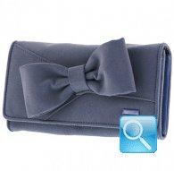 portafoglio camomilla wallet L ribbon d.blue
