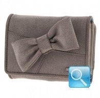 portafoglio camomilla wallet M ribbon l.brown