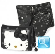 wallet S city hello kitty black