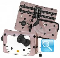 wallet S city hello kitty pink