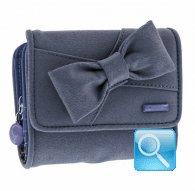 portafoglio camomilla wallet S ribbon d.blue